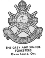(Thumbnail) Insignia of the Grey and Simcoe Foresters - Owen Sound Ontario (image/jpeg)