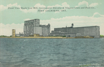 (Thumbnail) Front view Maple Leaf Mill, Government Elevator & Niagara Grain & Feed Co [Company] Port Colborne Ont [Ontario] (image/jpeg)