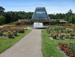 (Thumbnail) Main entrance to Niagara Parks Commission Floral Showhouse in Queen Victoria Park (image/jpeg)