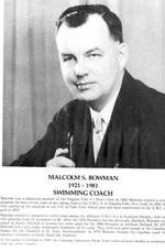(Thumbnail) Niagara Falls Sports Wall of Fame - Malcolm S Bowman 1921 - 1981 Swimming coach (image/jpeg)