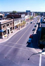 (Thumbnail) Aerial view - looking east down Queen Street (image/jpeg)