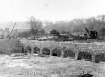 (Thumbnail) Canadian Niagara Power Plant - Construction of Inlet Arches at South end of Forebay (image/jpeg)