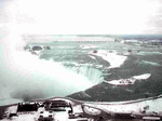 (Thumbnail) The Horseshoe Falls in winter from the 30th floor of the Embassy Suites Hotel (image/jpeg)
