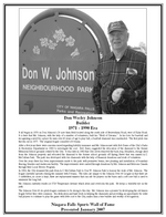 (Thumbnail) Niagara Falls Sports Wall of Fame - Don Wesley Johnson Builder Recreational Sports era 1971 - 1990 (image/jpeg)