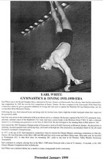 (Thumbnail) Niagara Falls Sports Wall of Fame - Earl White Athlete Gymnastics & Diving 1931 - 1950 era (image/jpeg)