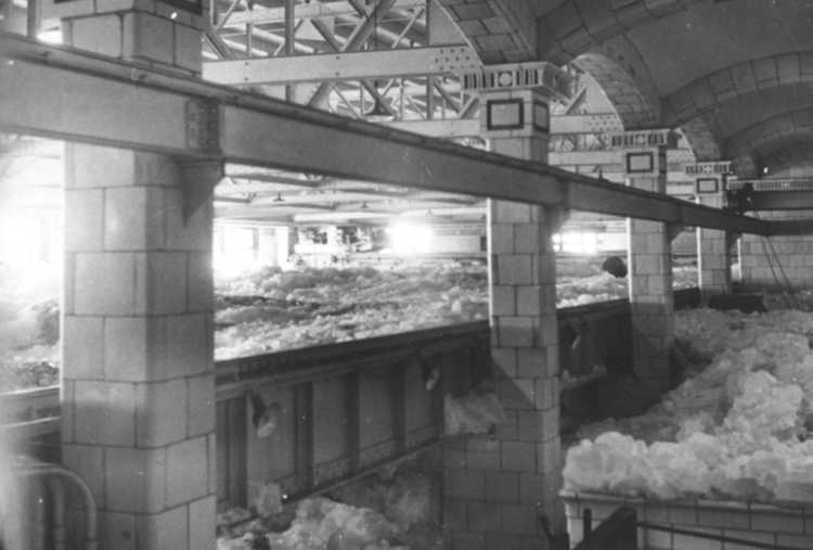 An Interior view of the flooded Ontario Power Company Plant, Niagara Falls, Ont. (image/jpeg)