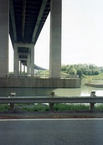 (Thumbnail) Garden City Skyway St Catharines - west side of Welland Canal from Government Rd (image/jpeg)