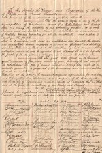 (Thumbnail) Petition to the Town of Clifton (now Niagara Falls) requesting a public library and reading room (image/jpeg)