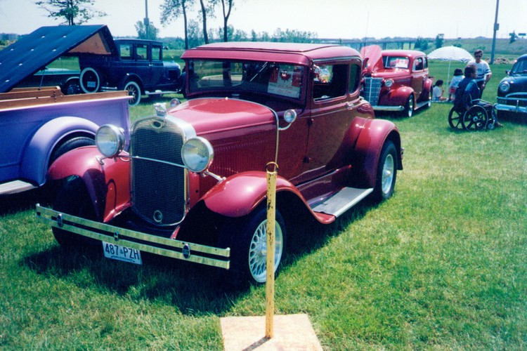 1930 Ford Motor Car At The Canada Day Celebrations In