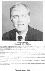 (Thumbnail) Niagara Falls Sports Wall of Fame - Douglas Marshall Basketball 1951-1970 era (image/jpeg)