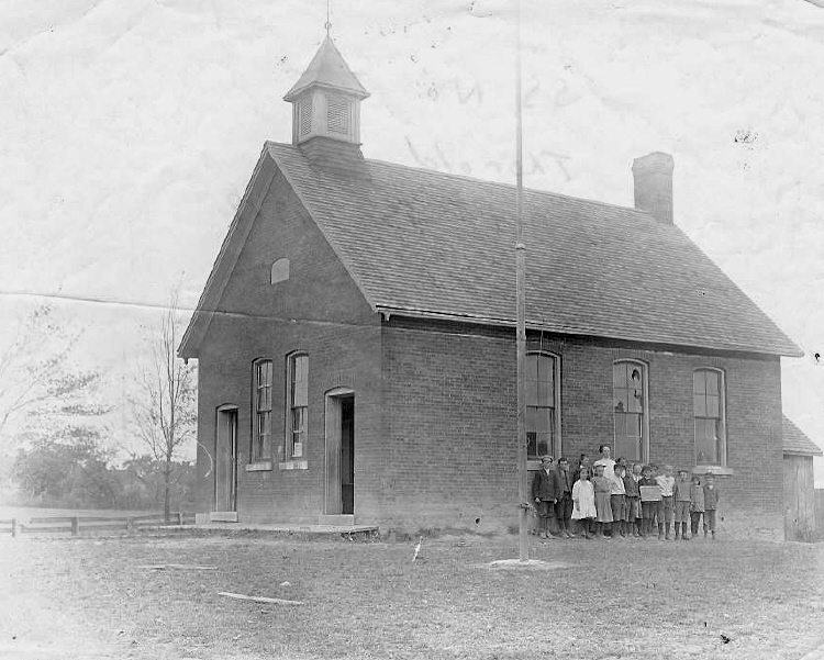 Houck School, Holland &amp; Hansler Road, Thorold, Ontario - S. S. No. 7 (image/jpeg)