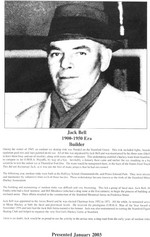 (Thumbnail) Niagara Falls Sports Wall of Fame - Jack Bell 1900 - 1950 era Builder (image/jpeg)