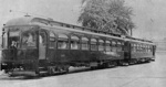 (Thumbnail) Canadian National Railways Streetcars 135 and 134 on Bridge Street (image/jpeg)