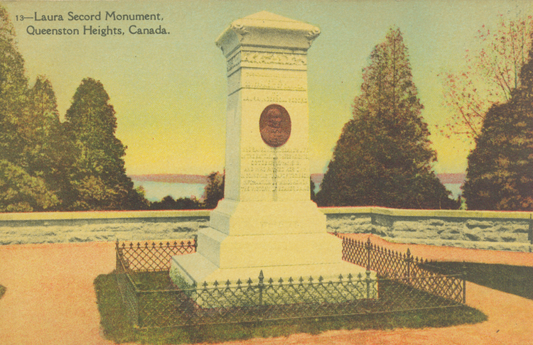 Laura Secord Monument, Queenston Heights, Canada (image/jpeg)