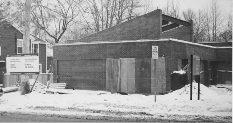 Construction of the Post Office in Niagara-On-The-Lake (image/jpeg)