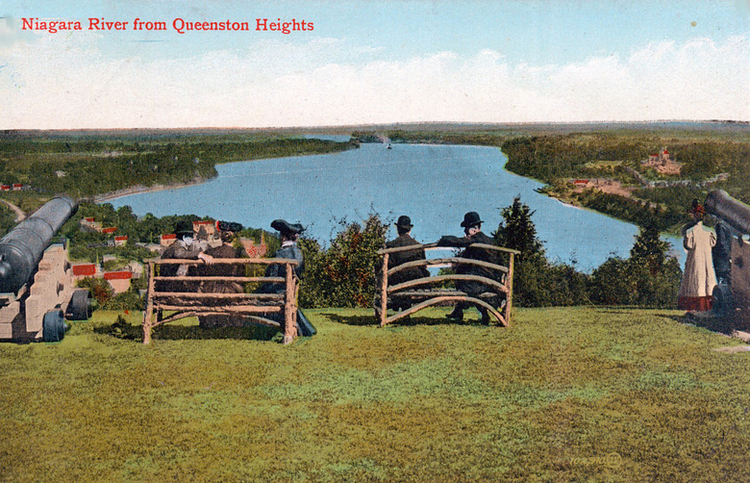 Niagara River From Queenston Heights (image/jpeg)