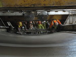 (Thumbnail) Niagara Tunnel Project - The concrete floor is made smooth. (image/jpeg)