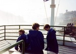 (Thumbnail) Visit of Diana Princess of Wales, Prince William and Prince Harry to Niagara Falls on the Maid of Mist IV (image/jpeg)