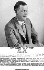 "(Thumbnail) Niagara Falls Sports Wall of Fame - Evan Eugene ""Gene"" Fraser 1892-1936 Ice Hockey (image/jpeg)"