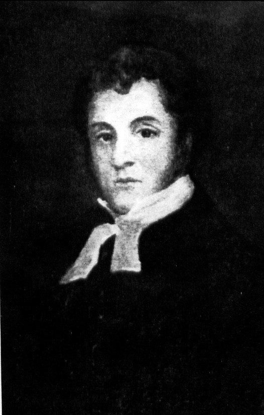 Reverend Brooke Bridges Stevens MA Queenston's first Anglican Rector (image/jpeg)