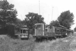 (Thumbnail) Electric Streetcars in a field just off of River Road near the Spanish Aero Car (image/jpeg)