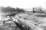 (Thumbnail) Ontario Power Company Generating Station  - excavation for pipe line in Queen Victoria Park (image/jpeg)
