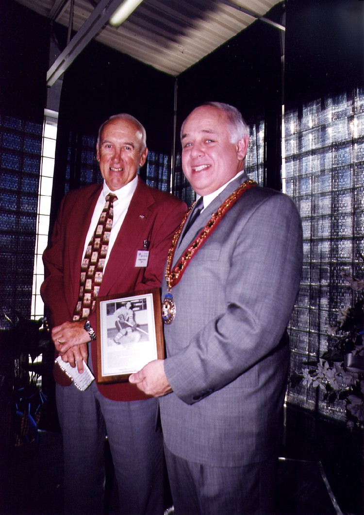 15th annual Sports Wall of Fame Induction Ceremony - William (Bill) Edwin Ives (image/jpeg)