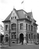(Thumbnail) The Niagara Falls Post Office on the corner of Park and Zimmerman Avenue (image/jpeg)