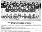 (Thumbnail) Niagara Falls Sports Wall of Fame - Lions Midget Baseball Team 1974 (image/jpeg)