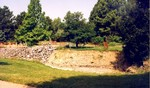(Thumbnail) Niagara Parks Commission Butterfly Conservatory - construction of pond area (image/jpeg)