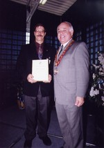 (Thumbnail) 15th annual Sports Wall of Fame Induction Ceremony - Stamford Lions Club Sponsor award (image/jpeg)