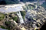 (Thumbnail) Dewatered American Falls From Prospect Point Observation Tower; Showing Rock Build-Up at Base (image/jpeg)