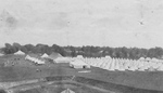 (Thumbnail) Aerial View from Fort Mississauga of Canadian Expeditionary Forces at Camp Niagara - (image/jpeg)