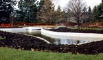 (Thumbnail) Niagara Parks Commission Butterfly Conservatory - construction of pond area completed (image/jpeg)