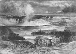 (Thumbnail) General View of Niagara Falls - Brink of the Horseshoe Falls &amp; the American Falls (image/jpeg)