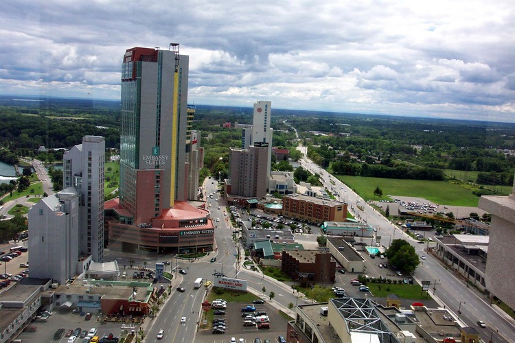 Aerial View of the Fallsview Business District (image/jpeg)