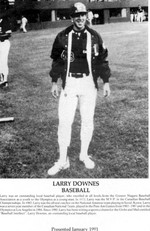 (Thumbnail) Niagara Falls Sports Wall of Fame - Larry Downes Baseball era 1971 - 1990 (image/jpeg)