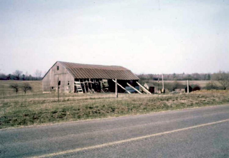 Barn in St Ann's where volunteers were trained and housed during the Fenian Raid of  June 1866 (image/jpeg)
