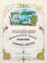 (Thumbnail) Advertisement for a Piano Concert by Leopold v. Meyer (image/jpeg)