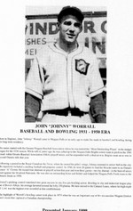 (Thumbnail) Niagara Falls Sports Wall of Fame - John (Johnny) Worrall Athlete Baseball & Bowling era 1931 - 1950 (image/jpeg)