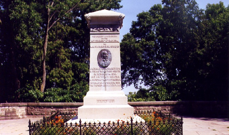 Queenston Heights - monument to Laura Secord (image/jpeg)