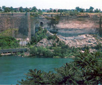 (Thumbnail) The site of the former Schoellkopf Power Plant in the Niagara Gorge as seen from Canada (image/jpeg)