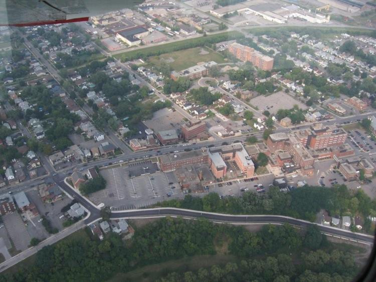 Aerial View of St. Catharines, Ontario (image/jpeg)
