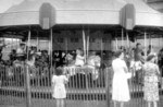 (Thumbnail) Cyanamid company picnic, children on the carousel at Lakeside Park St Catharines (image/jpeg)