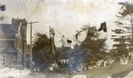 (Thumbnail) 100th Anniversary of the Battle of Lundy's Lane Parade - July 25, 1914 - Parade Passing by Drummond Hill Church (image/jpeg)