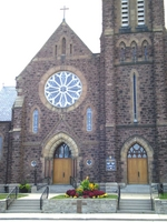 (Thumbnail) City of Niagara Falls Summer Trillium Awards - second place churches - St Patrick's Roman Catholic Chruch on Victoria Avenue (image/jpeg)