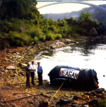 (Thumbnail) Barrel belonging to Steven Trotter, after his plunge over the Canadian Horseshoe Falls (image/jpeg)