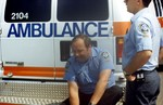 (Thumbnail) Ambulance workers who took part in rescuing Lori Martin & Steven Trotter (image/jpeg)