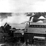 (Thumbnail) Barnett's Museum, Floral Arch and American Falls (image/jpeg)