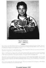 (Thumbnail) Niagara Falls Sports Wall of Fame - Marty Dallman Athlete Hockey 1971 - 1990 era (image/jpeg)